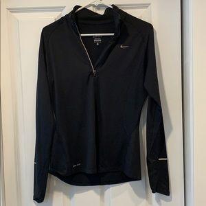 Black Nike half zip